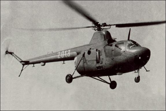 Как летает вертолет