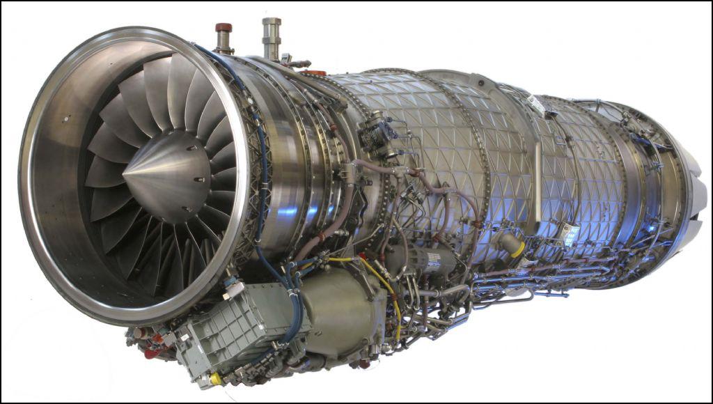 двигатель самолета