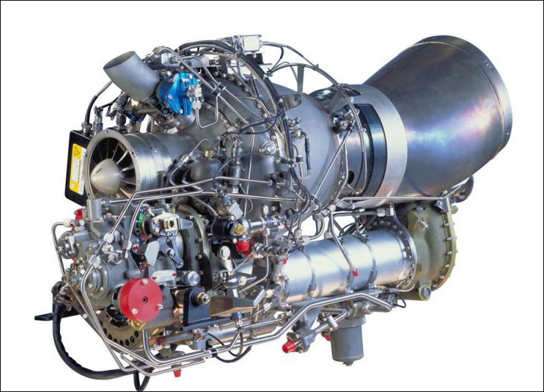 Турбовальный двигатель.