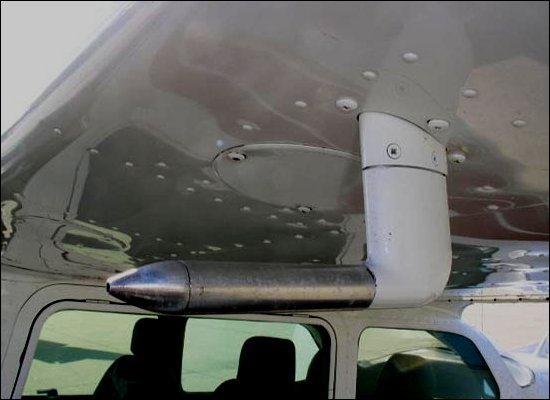 Скорость полета самолета и трубка Пито.