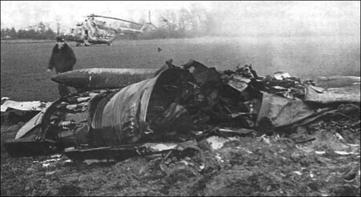 Авиационная катастрофа.