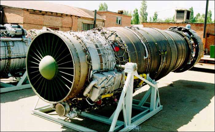 Турбореактивный двигатель с форсажной камерой (ТРДФ).