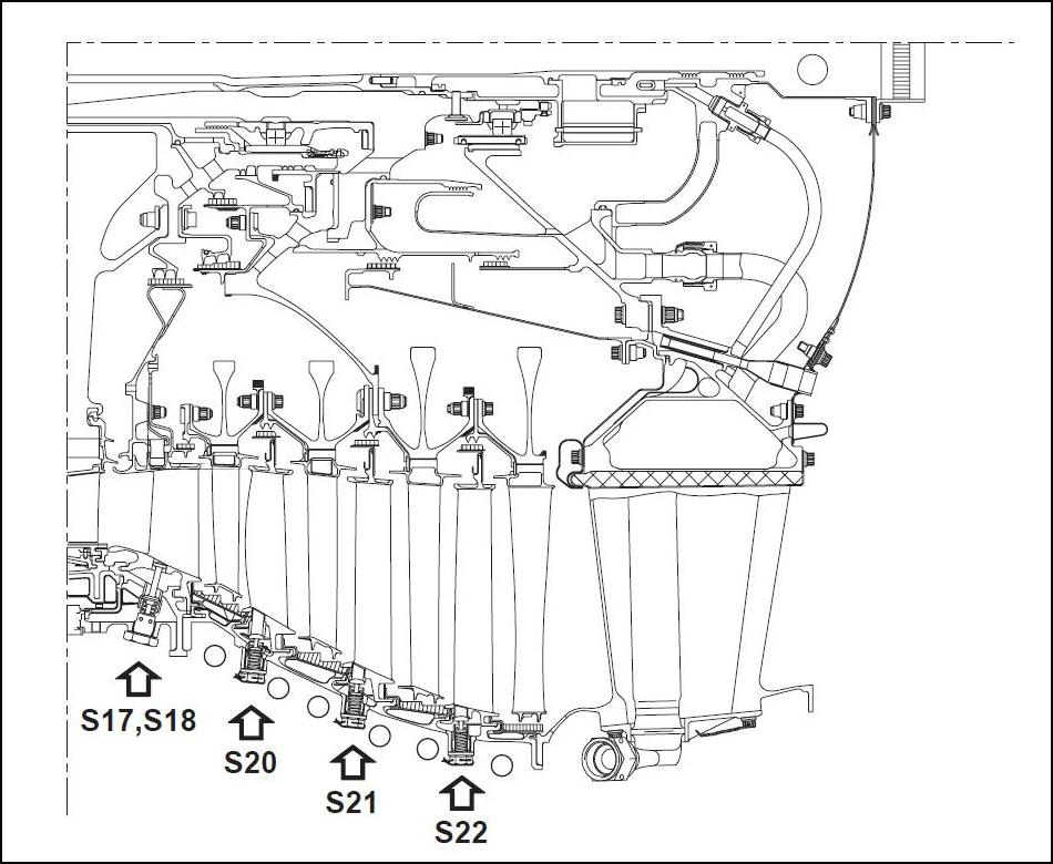 Двигатель CFM56.