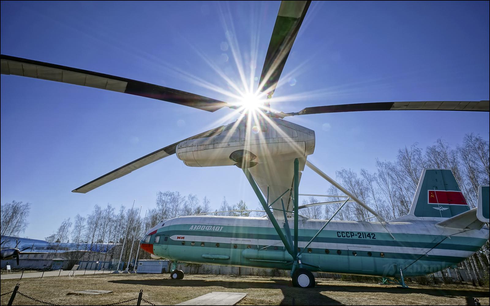 Музей авиации в Монино вместе с Poznamka.