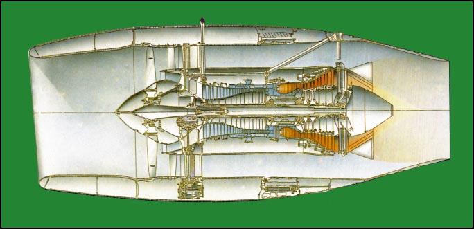 Схема двигателя ПС90А-76.