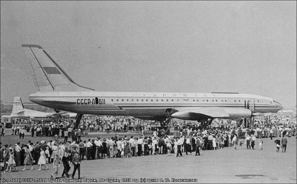 Самолет Ту-114. Забытый флагман.