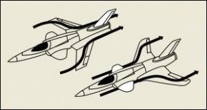 О стреловидности крыла...